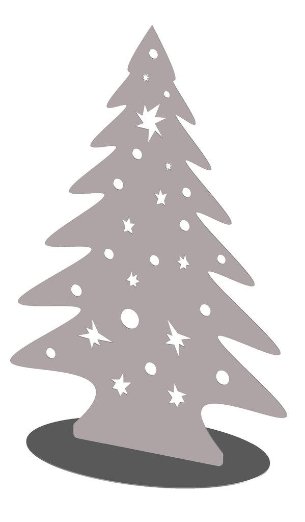 Weihnachtsbaum standfigur edelstahl for Design weihnachtsbaum edelstahl