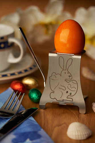 "Design Eierbecher ""Motiv Osterhase"""